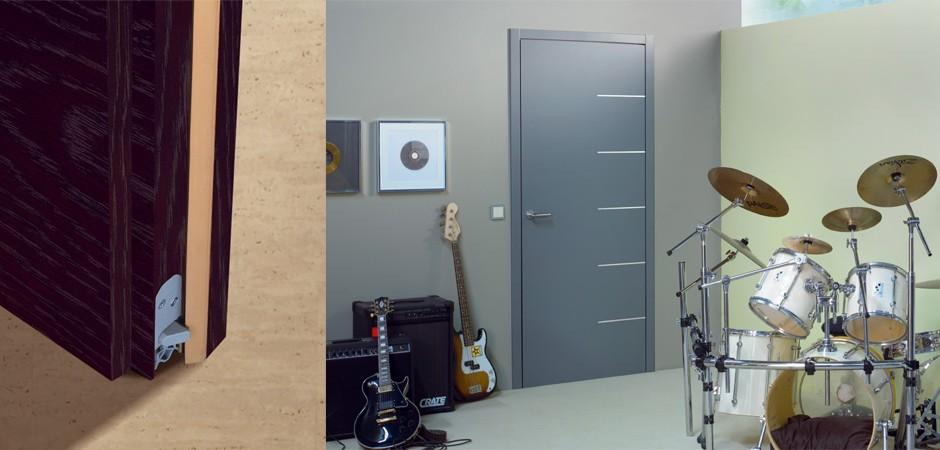 Oda yalıtımlı kapı